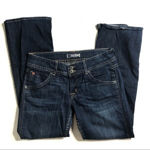 3/$20 Hudson Midwash Straight Leg Jeans